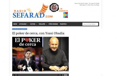 El GuíaBurros: El póker de cerca y su autor, Yossi Obadía, entrevista en Radio Sefarad
