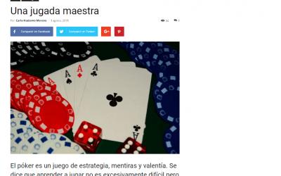 El GuíaBurros: Poker, de Yossi Obadía, considerado como uno de los mejores libros sobre este juego