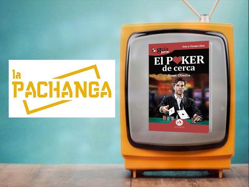 Yossi Obadía ha hablado de su libro sobre póker en 'La Pachanga'
